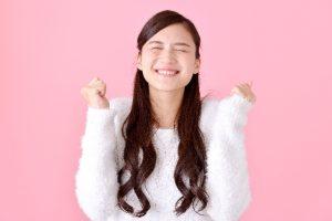 笑顔の女性1