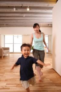 走る子供1